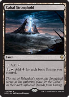 Image result for cabal stronghold mtggoldfish
