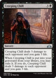Image result for creeping chill mtggoldfish