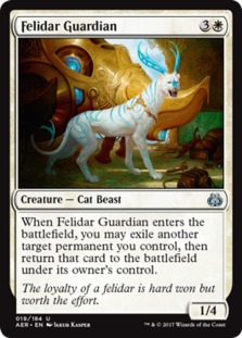 Image result for felidar guardian mtggoldfish