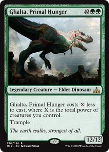 Image result for ghalta  mtggoldfish