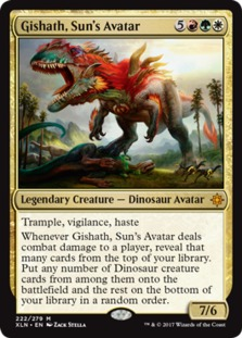 Image result for gishath mtggoldfish