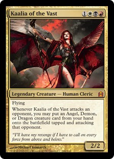 Image result for kaalia of the vast mtggoldfish