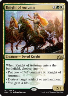 Image result for knight of autumn mtg