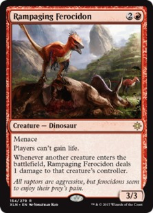Image result for rampaging ferocidon mtggoldfish