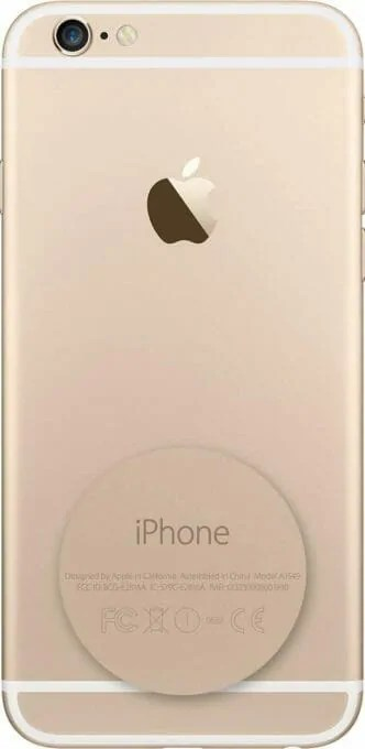 IMEI on back of iPhone