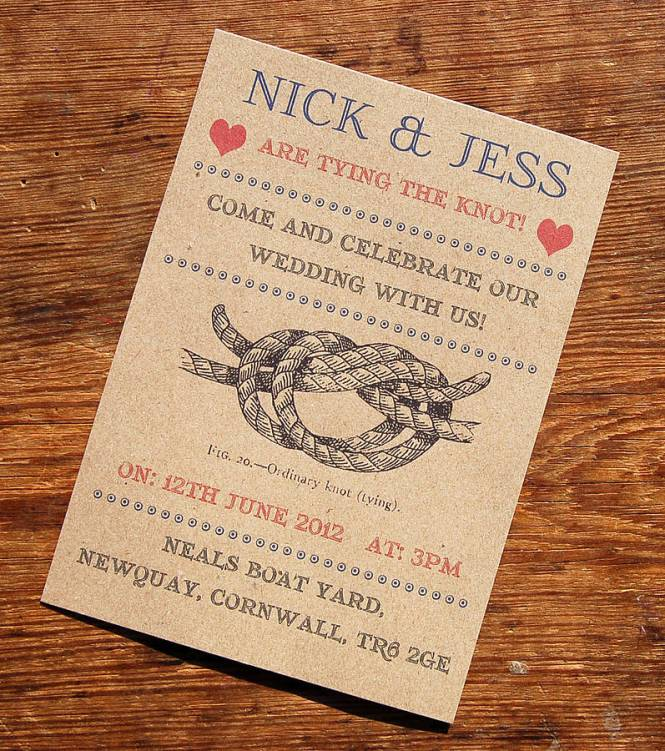 Wedding Invitations Tying The Celtic Knot By Casey Fritz