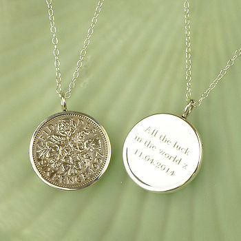 Lucky Sixpence Necklace