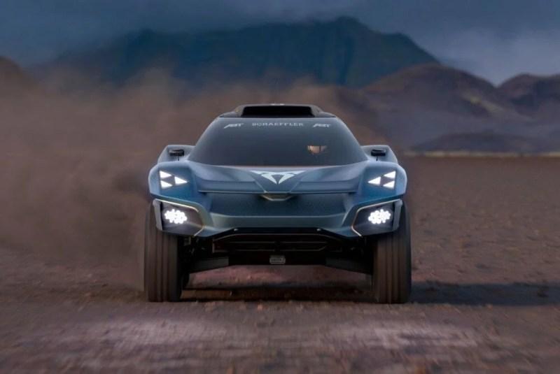 CUPRA'dan tamamen elektrikli off-road aracı: Tavascan Extreme E - 8