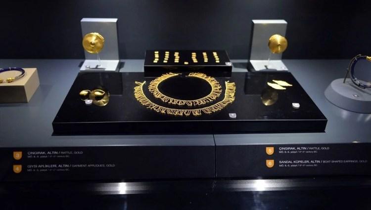 'Karun Hazineleri'nin sergilendiği yer: Uşak Arkeoloji Müzesi