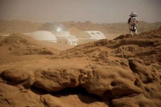 Çin, Mars'tan yeni fotoğraflar paylaştı - 5