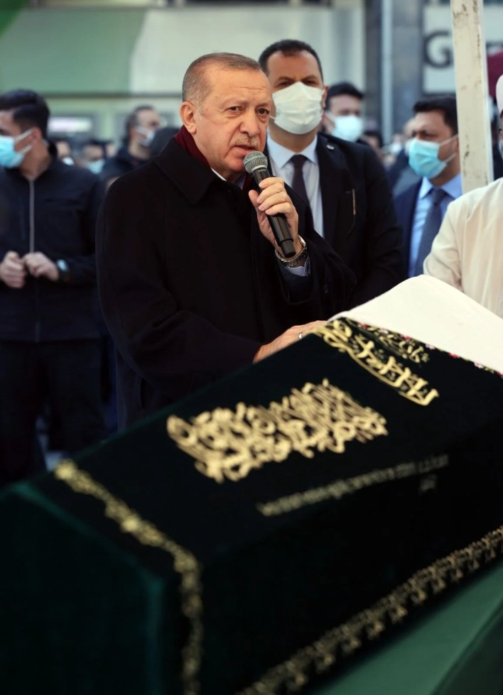 A ceremony was organized for the nobleman's mother (President Erdogan also attended) - 6