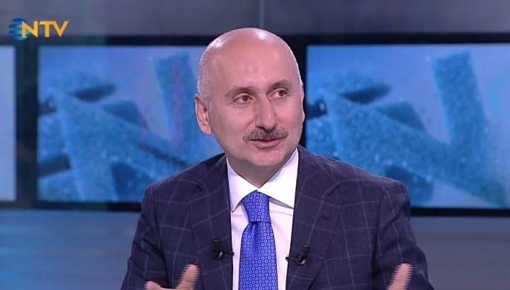 Ulaştırma Bakanı Adil Karaismailoğlu NTV'de