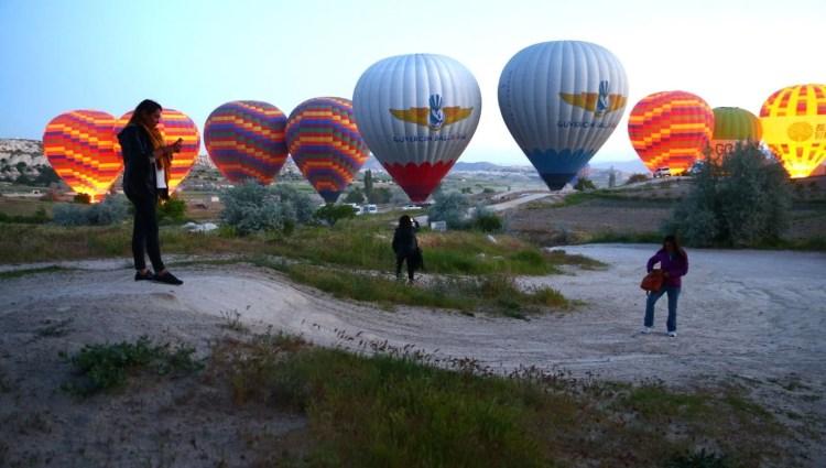 Kapadokya'da balonlar yeniden gökyüzü ile buluştu