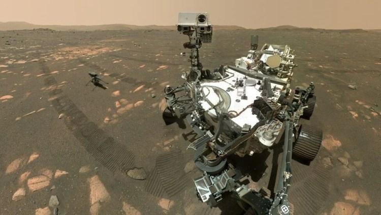 Perseverance Mars'ta bir ilke daha imza attı: Kaya örneği topladı