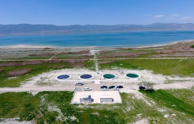 DSİ çalışma başlattı: Burdur Gölü'nü kurtarmak için 'yüzer güneş panelleri' - 5
