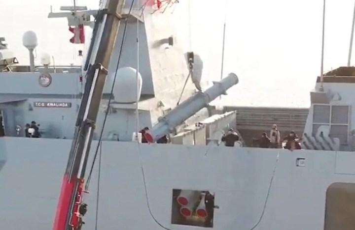 Türkiye'nin ilk silahlı insansız deniz aracı, füze atışlarına hazır - 32