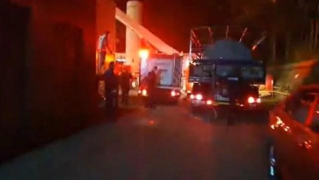 Romanya'da Covid-19 hastanesinde yangın