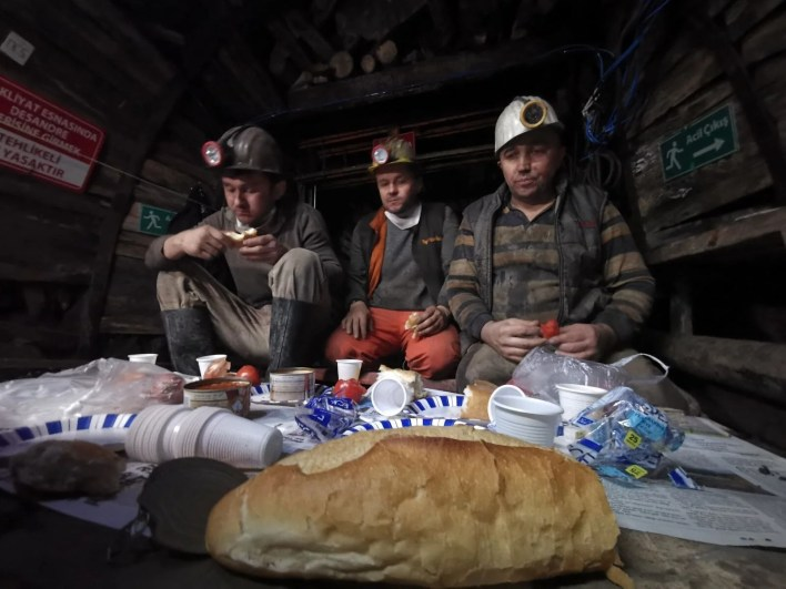 The first sahur in Zonguldak is 8 meters below the ground