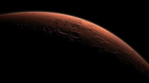 Çin, Mars'tan yeni fotoğraflar paylaştı - 6