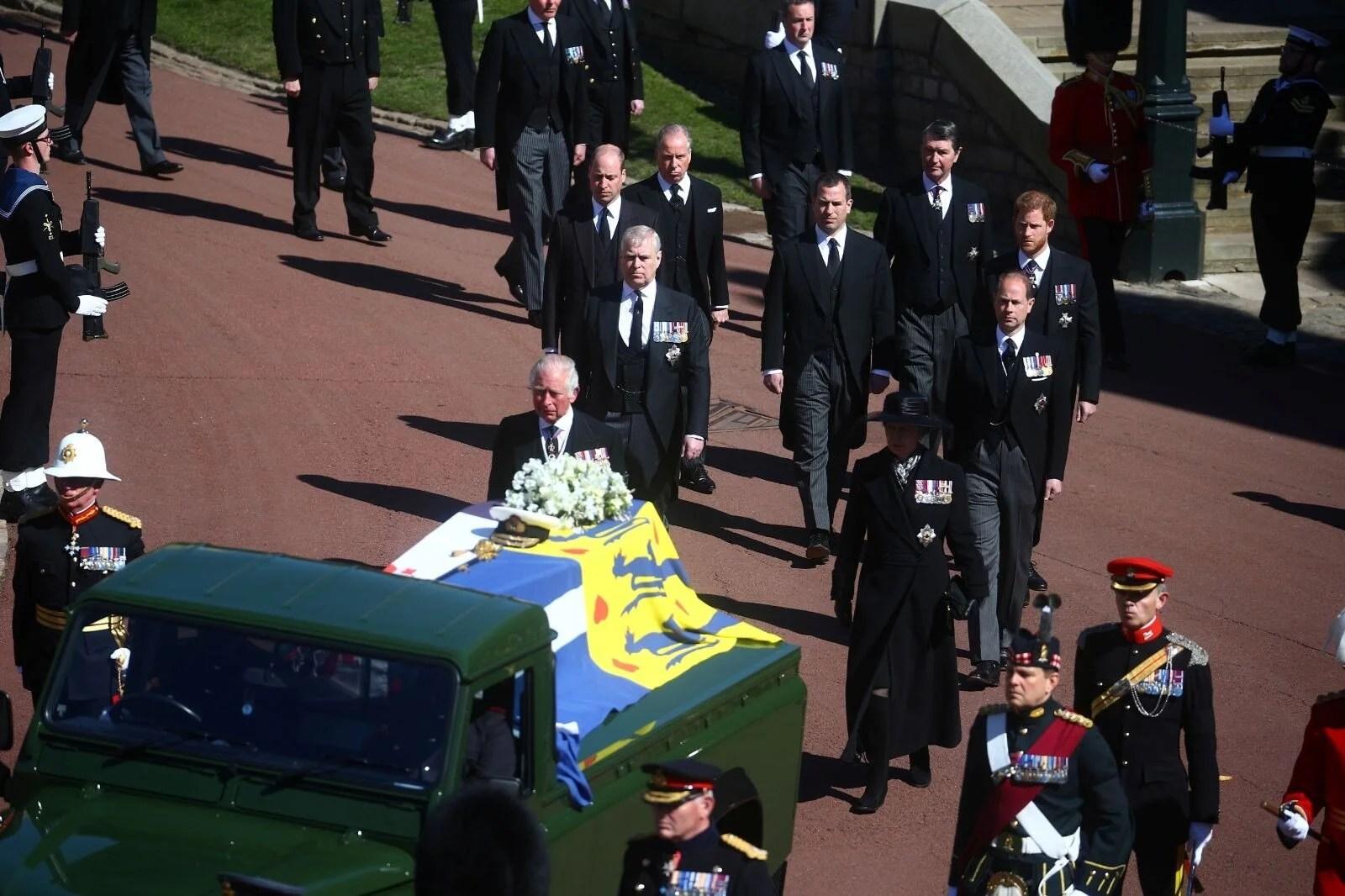 İngiltere, Prens Philip'e veda ediyor - 14