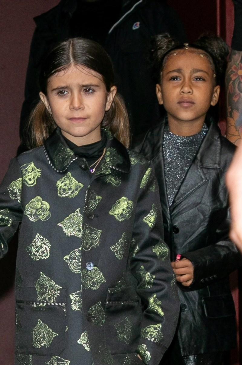 Kim Kardashian'ın 42 yaşındaki ablası Kourtney Kardashian'ın kızı Penelope Disick ile kendi kızı Northsürekli birlikte zaman geçiriyor.