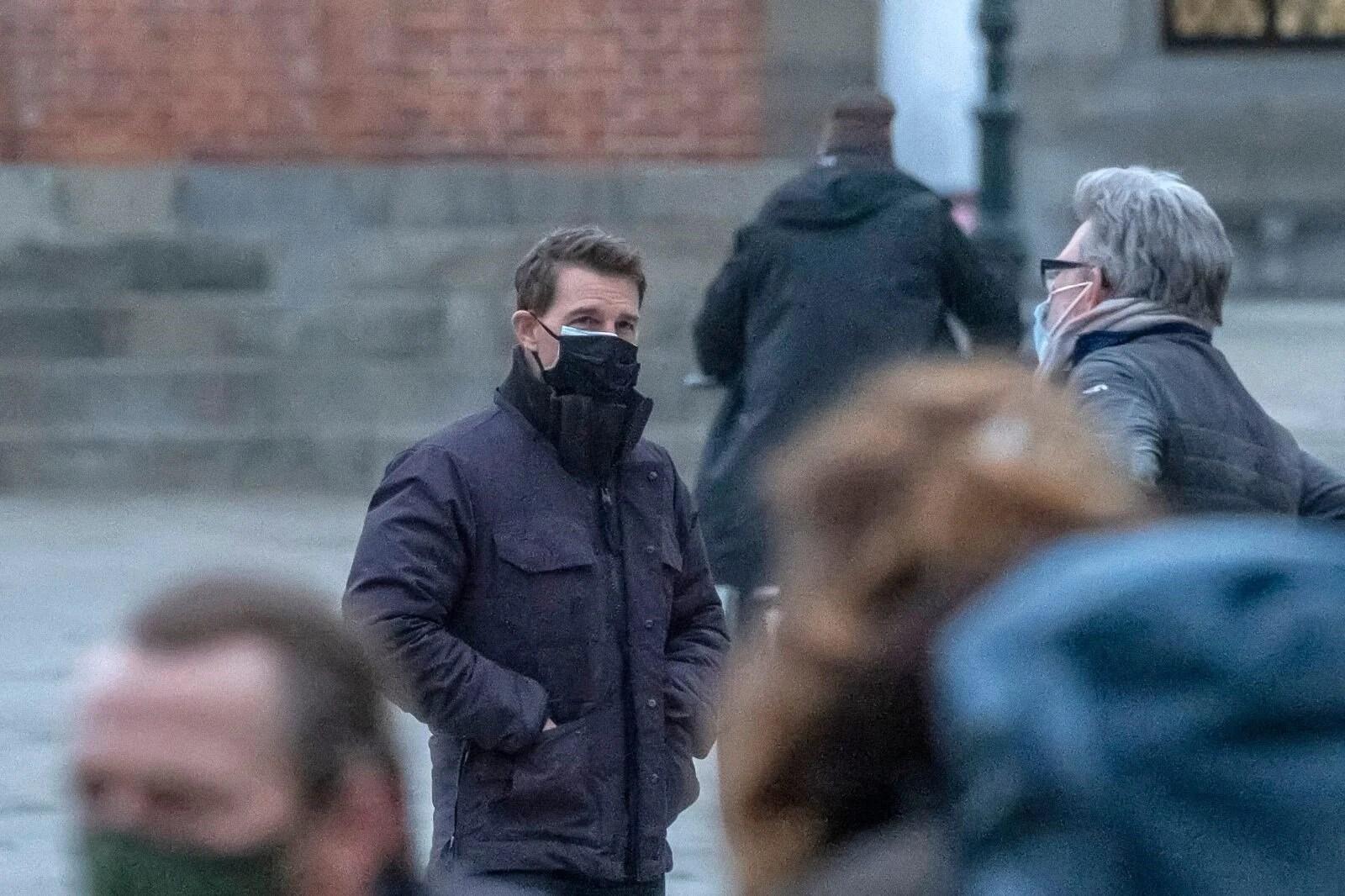 Tom Cruise Görevimiz Tehlike 7'nin çekimleri için Covid-19'a karşı güvenli stüdyo yaptırdı - 2