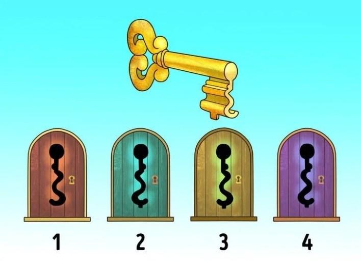 Dikkat testi: Kayıp rakam hangisi? - 4