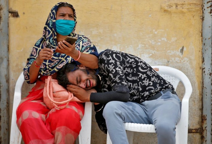 Record human casualties in the Jovid-19 epidemic in India - 3