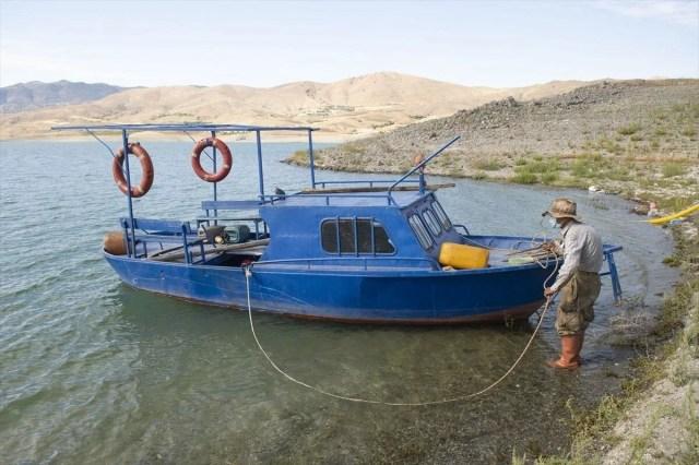 Doğaya kaçış hikayeleri: 'Robinson Ziya'nın Keban Baraj Gölü'ndeki adada huzurlu yaşamı - 5