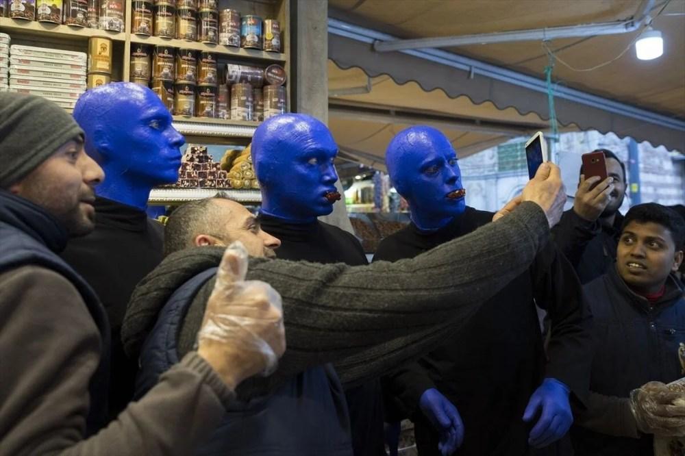 Blue Man Group, İstanbul, Eminönü