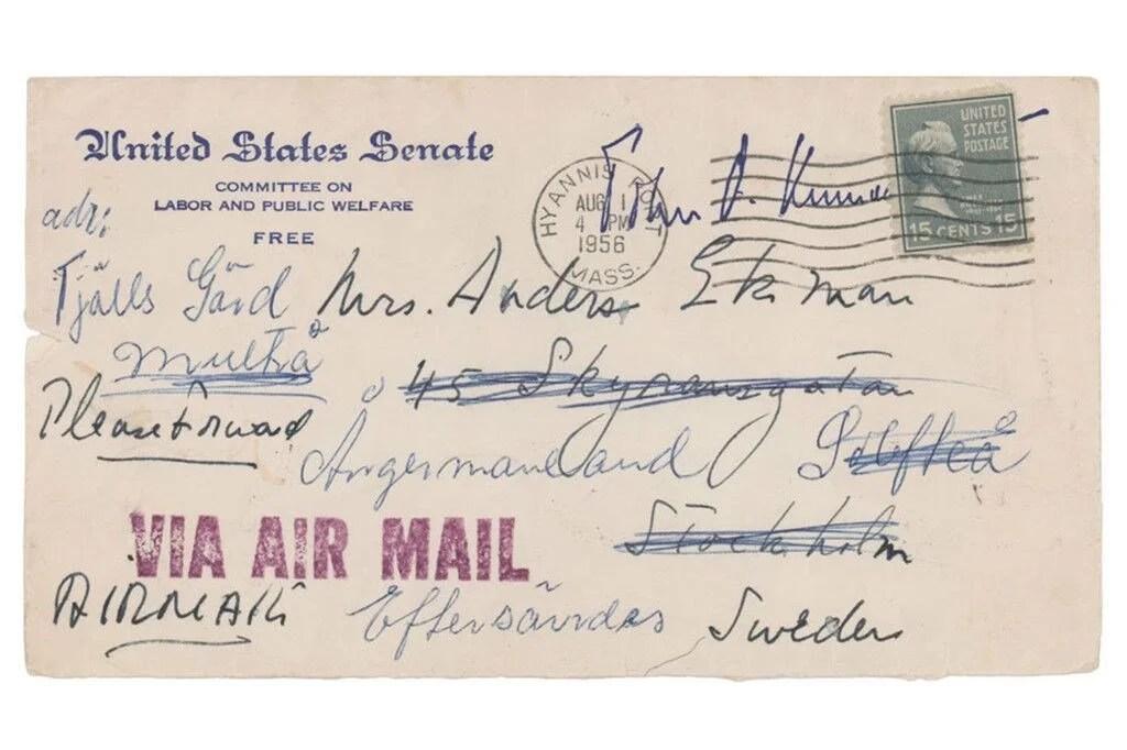 John F. Kennedy'nin yasak aşkına yazdığı mektup açık artırmada - 3