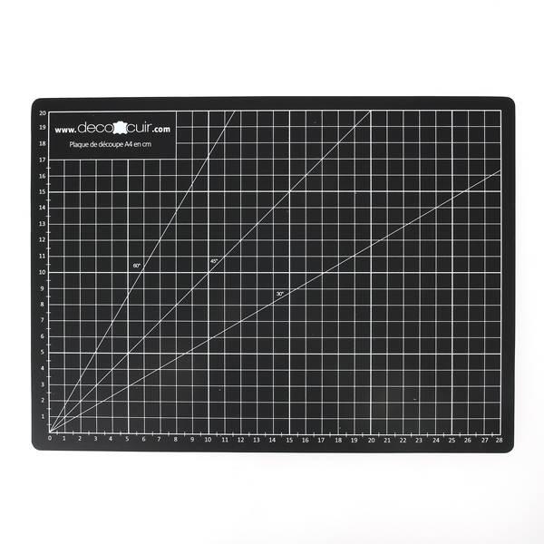 tapis de coupe autocicatrisant a4 220 x 300 mm deco cuir