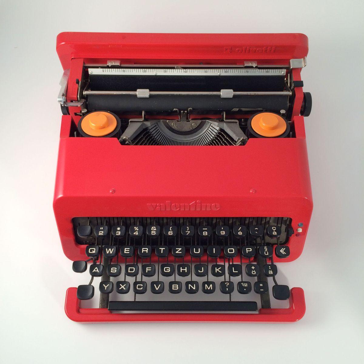 Machine Ecrire Valentine Par Ettore Sottsass Pour