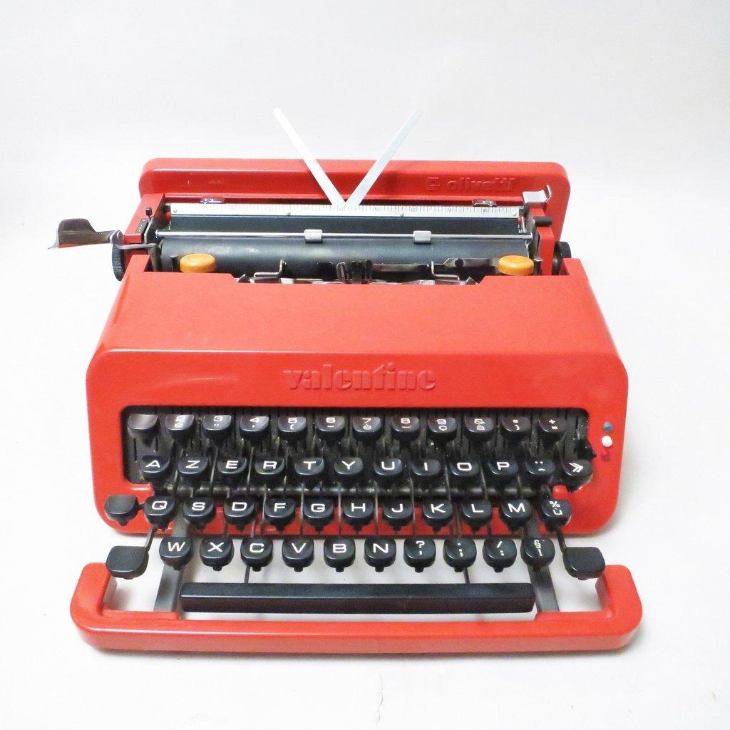 Mid Century Valentine Typewriter By Ettore Sottsass