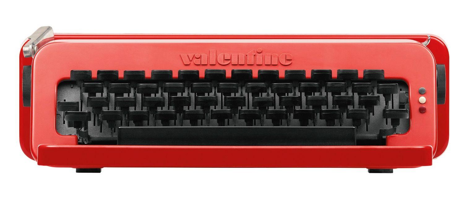 Vintage Valentine Portable Typewriter By Ettore Sottsass