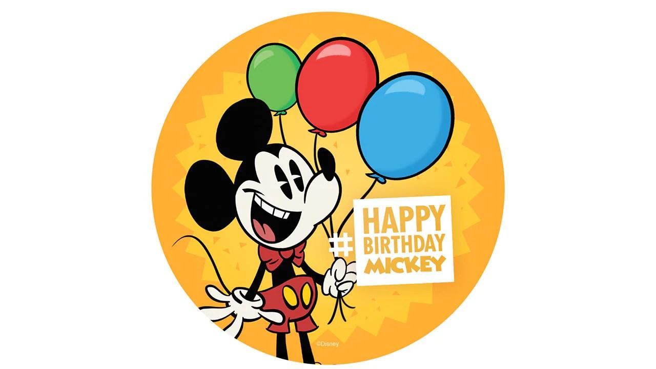 Mickey Mouse S Birthday Celebration Coming To Disney Parks Disney Parks Blog