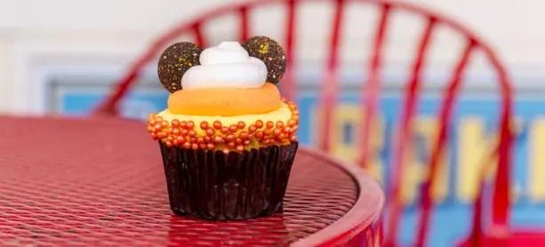 Candy Corn Cupcake at Disney's BoardWalk Bakery at Disney's BoardWalk