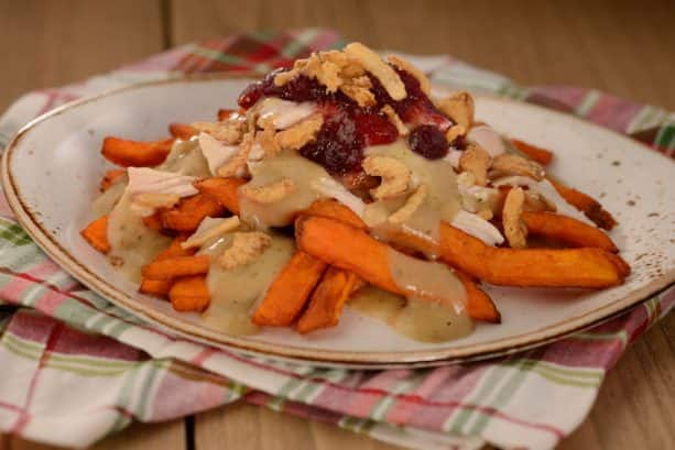 Turkey Poutine from Refreshment Port at Epcot International Festival of the Holidays