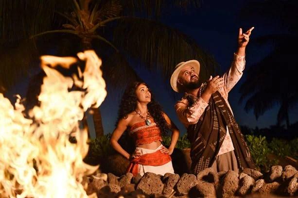 Moʻolelo Fire Pit Storytelling at Aulani Resort