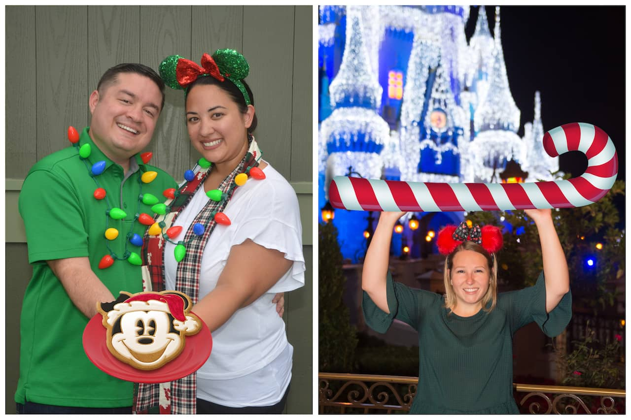 Mickey Mouse Cookie and Candy Cane Magic Shots