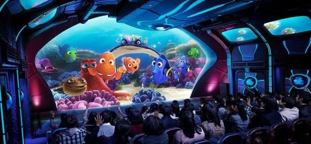 Nemo & Friends SeaRider at Tokyo DisneySea Park