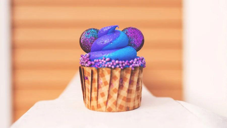 Purple Cupcake at Disney's Port Orleans Resort
