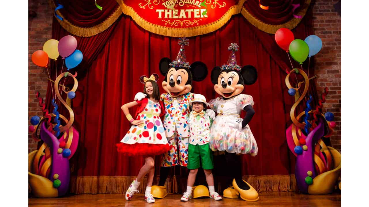 Join The Party During Mickey Minnie S Surprise Celebration At Magic Kingdom Park Disney Parks Blog