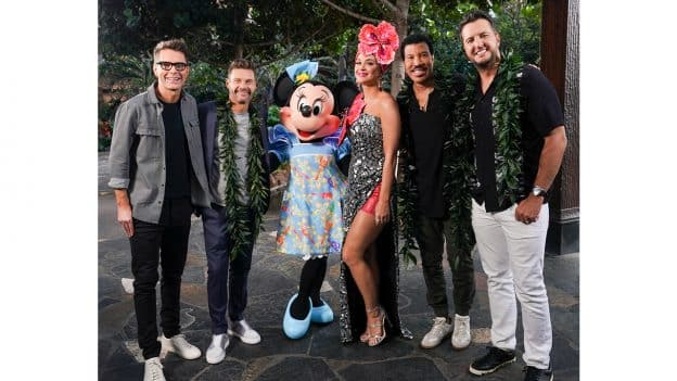 American Idol Judges at Aulani