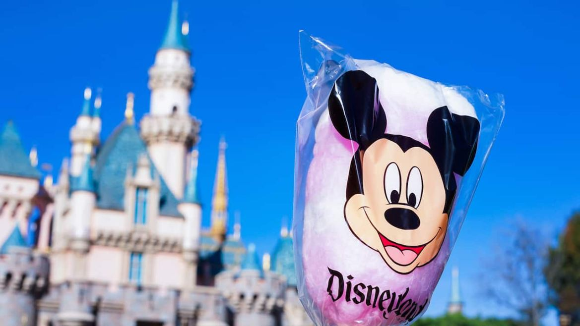Cherry Cotton Candy for Minnie's Valentine's Day Surprise at Disneyland Park