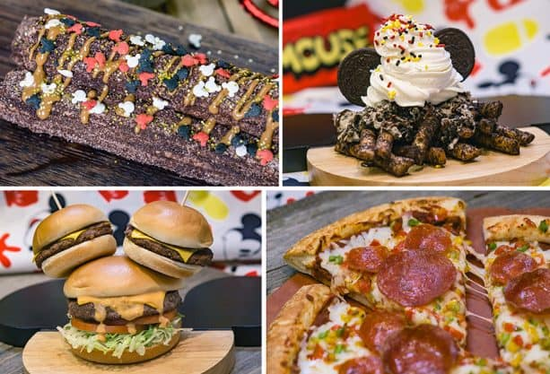 Get Your Ears On – A Mickey and Minnie Celebration food collage