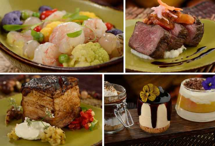 Food & Beverage Offerings from Circle of Flavors: Harambe at Night at Disney's Animal Kingdom