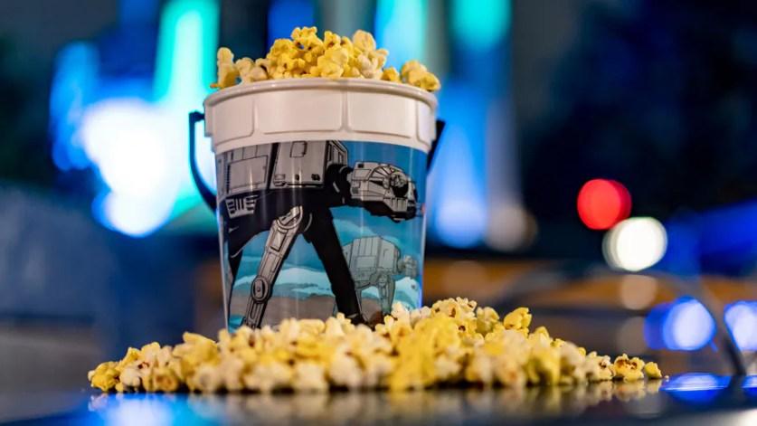Hoth Souvenir Base Popcorn Bucket from Tomorrowland at Disneyland Park