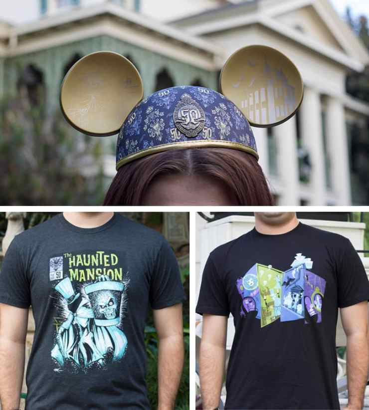 Haunted Mansion 50th Anniversary Merchandise