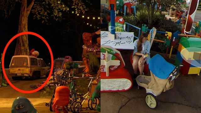 Pixar Easter Eggs Hidden in Google Street View Imagery of Toy Story Land 2